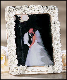 Two have become one wedding photo frame