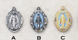 Our Lady of the Miraculous medal - 3 styles