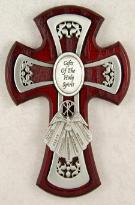 Chery Gifts of the Spirit Confirmation Cross as part of Boys confirmation special