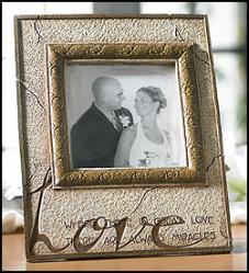 Where there is great love wedding photo frame