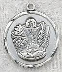First Communion Medal - sterling silver