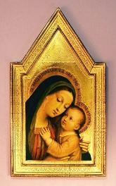 Our Lady of Good Counsel Florentine Religious Plaque