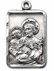 Sterling Silver St. Joseph Medal - front image