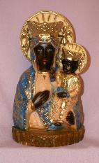 Virgina Mary Statue - Our Lady of Czestochowa
