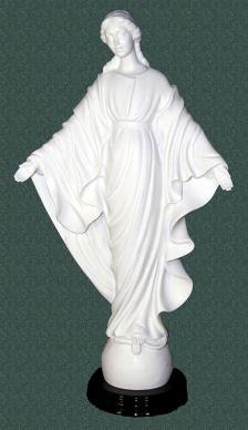 Virgin Mary Statues - Our Lady of Smiles - 16 inches.